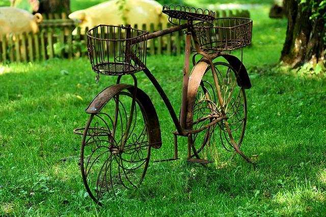 kolo jako dekorace