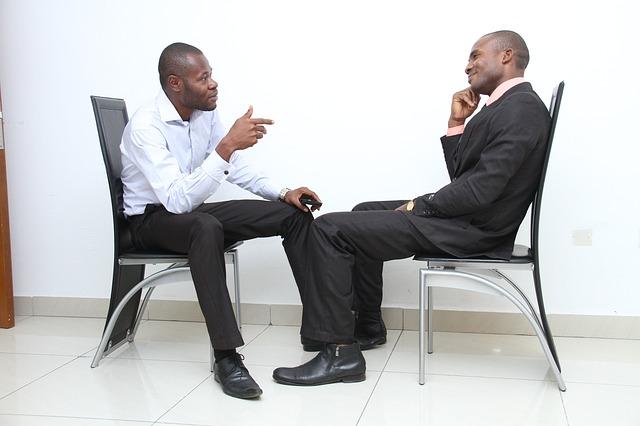 pracovní rozhovor